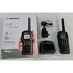 DigiTech Waterproof Floating UHF 80 Channel Transciever - Lot of 3