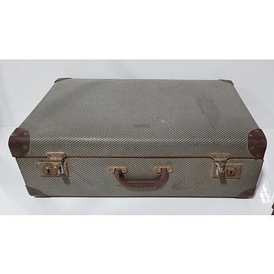 Two Vinatge Suitcases