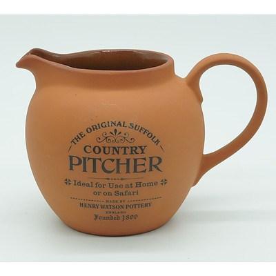 The Original Suffolk Terracotta Country Pitcher