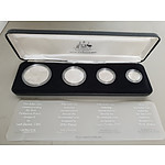 1988 Royal Australian Mint Masterpieces in Sterling Silver Coin Set