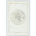 Antiquarian Map Of The Hemisphere Austral, Benard Fecit