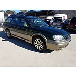 3/1999 Subaru Outback Limited MY99 4d Wagon Green 2.5L