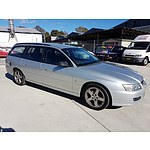 9/2005 Holden Commodore Executive VZ 4d Wagon Silver 3.6L