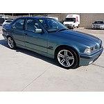 10/1995 BMW 320i 4d Sedan Green 2.0L
