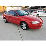 4/1997 Toyota Paseo  EL54R 2d Coupe Red 1.5L