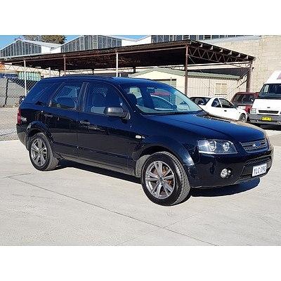 4/2005 Ford Territory TX (rwd) SX 4d Wagon Black 4.0L
