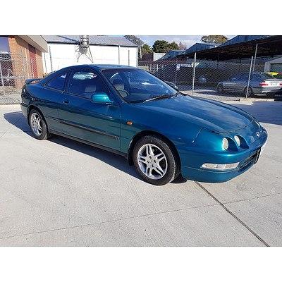 11/1996 Honda Integra GSi  2d Coupe Green 1.8L