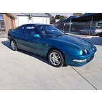 11/1996 Honda Integra GSi  2d Coupe Green 1.8L