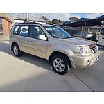 9/2003 Nissan X-trail Ti Luxury (4x4) T30 4d Wagon Gold 2.5L