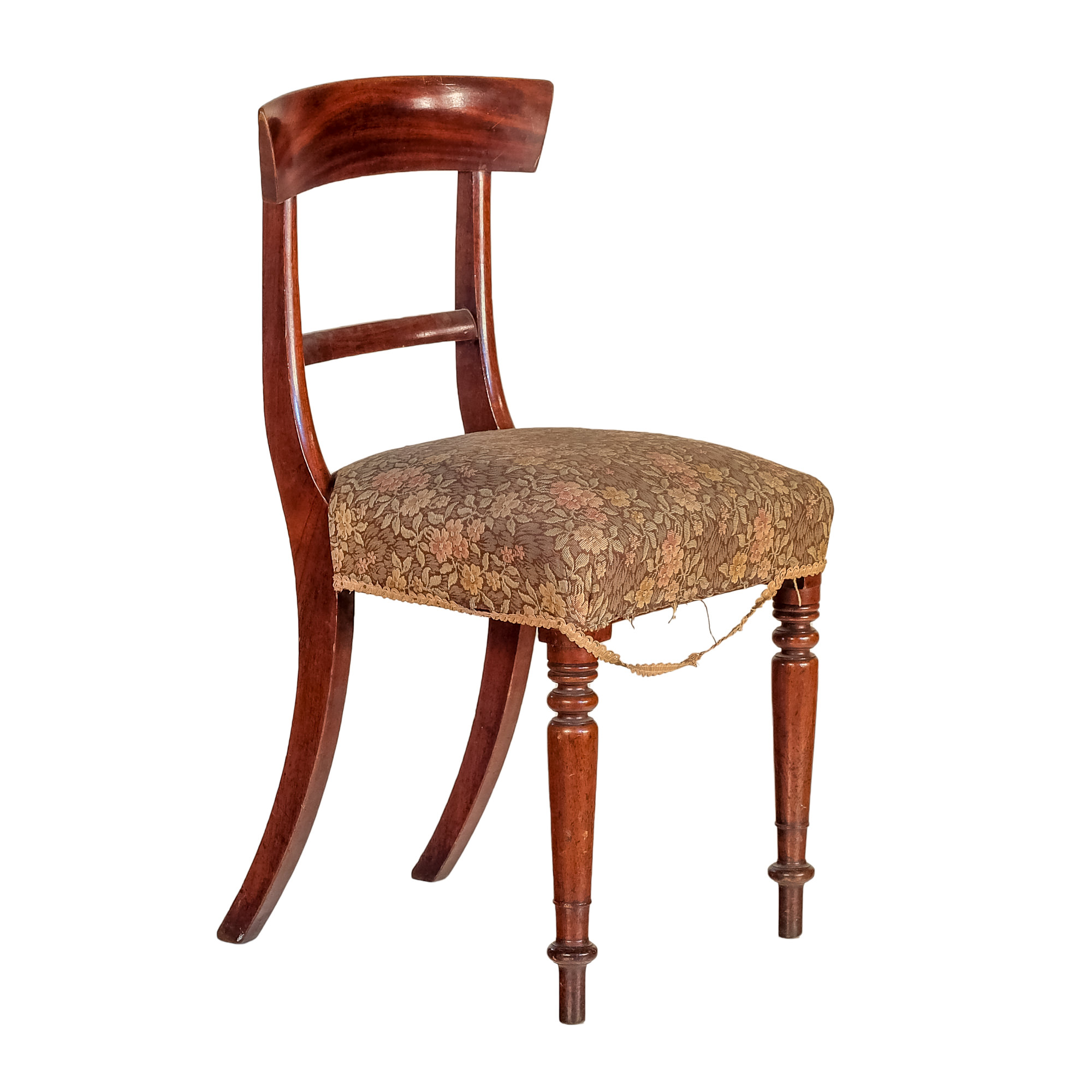 'Victorian Mahogany Dining Chair Circa 1870'