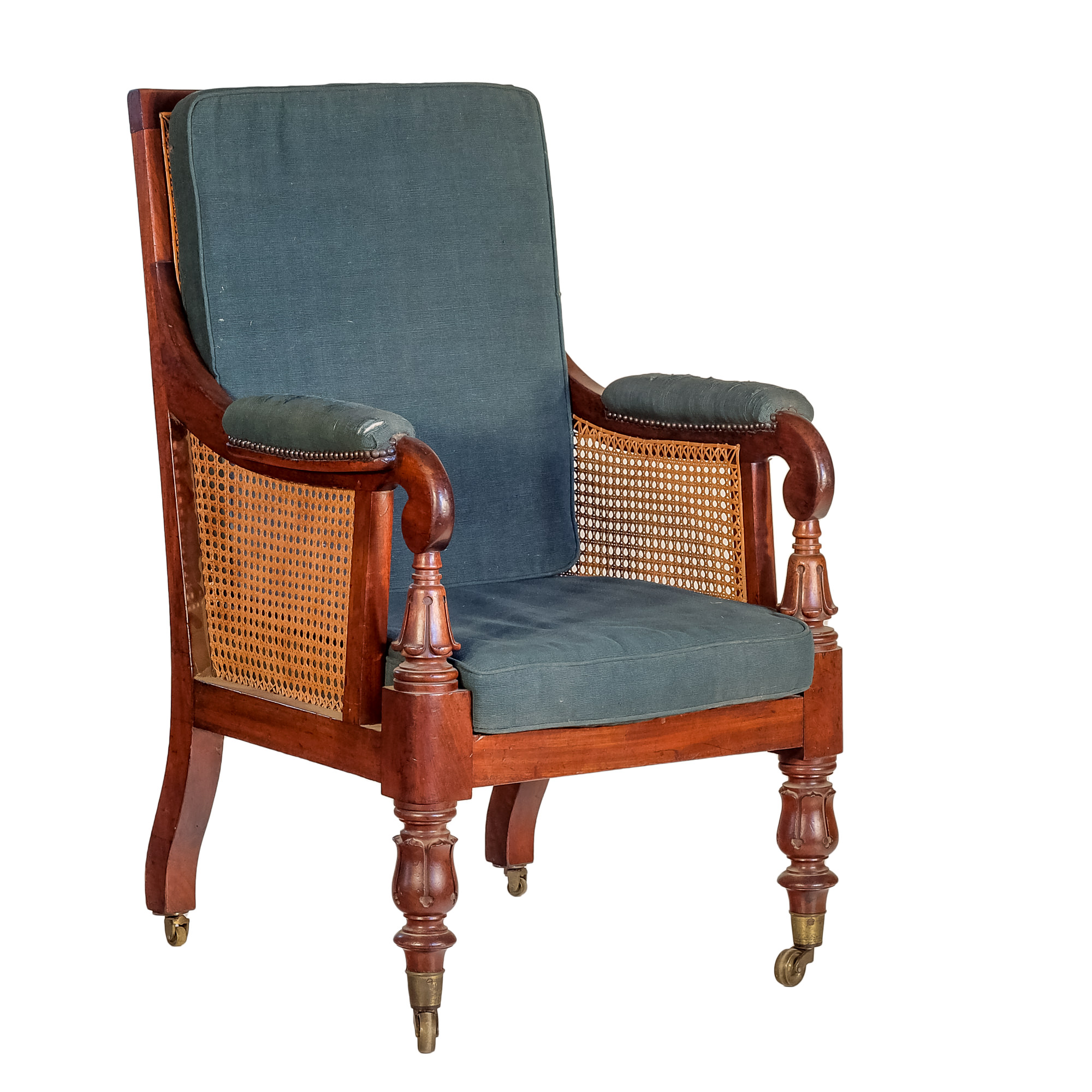 'William IV Caned Mahogany Drawing Room Chair Circa 1835'
