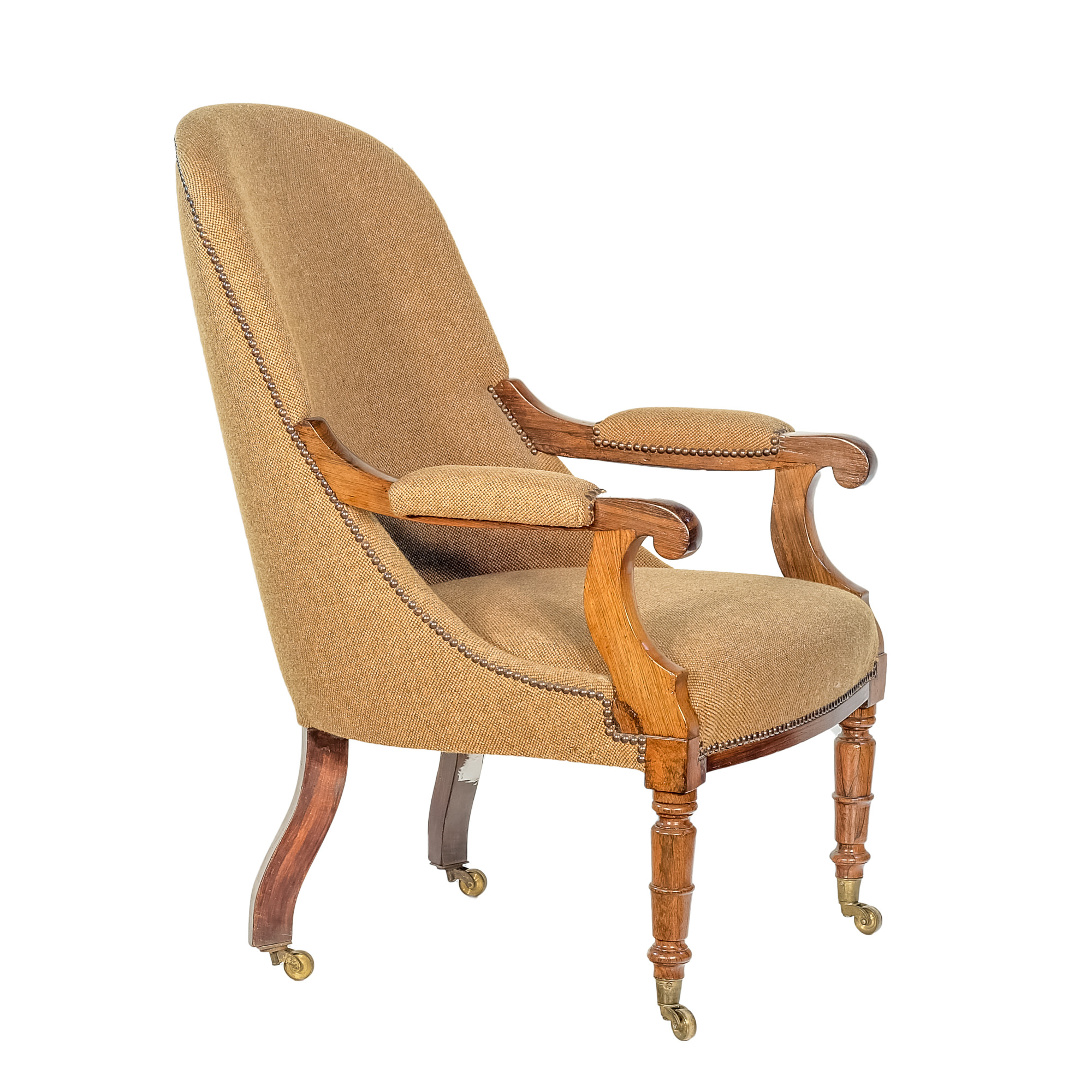 'William IV Brazilian Rosewood Drawing Room Chair Circa 1835'