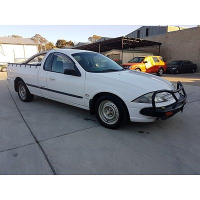 5/2002 Ford Falcon XL AUIII Utility White 4.0L