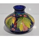 Moorcroft Hand Painted Vase