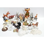 Large Group of Animal Ornaments
