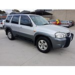 2/2003 Mazda Tribute Luxury  4d Wagon Silver 3.0L