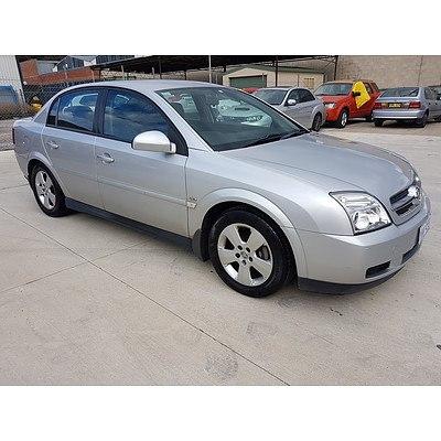 1/2005 Holden Vectra CD ZC MY05 UPGRADE 4d Sedan Silver 2.2L