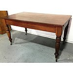 Antique Beech Dining Table