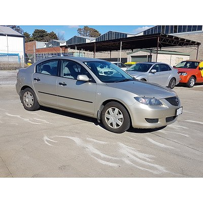 11/2004 Mazda Mazda3 NEO BK 4d Sedan Beige 2.0L