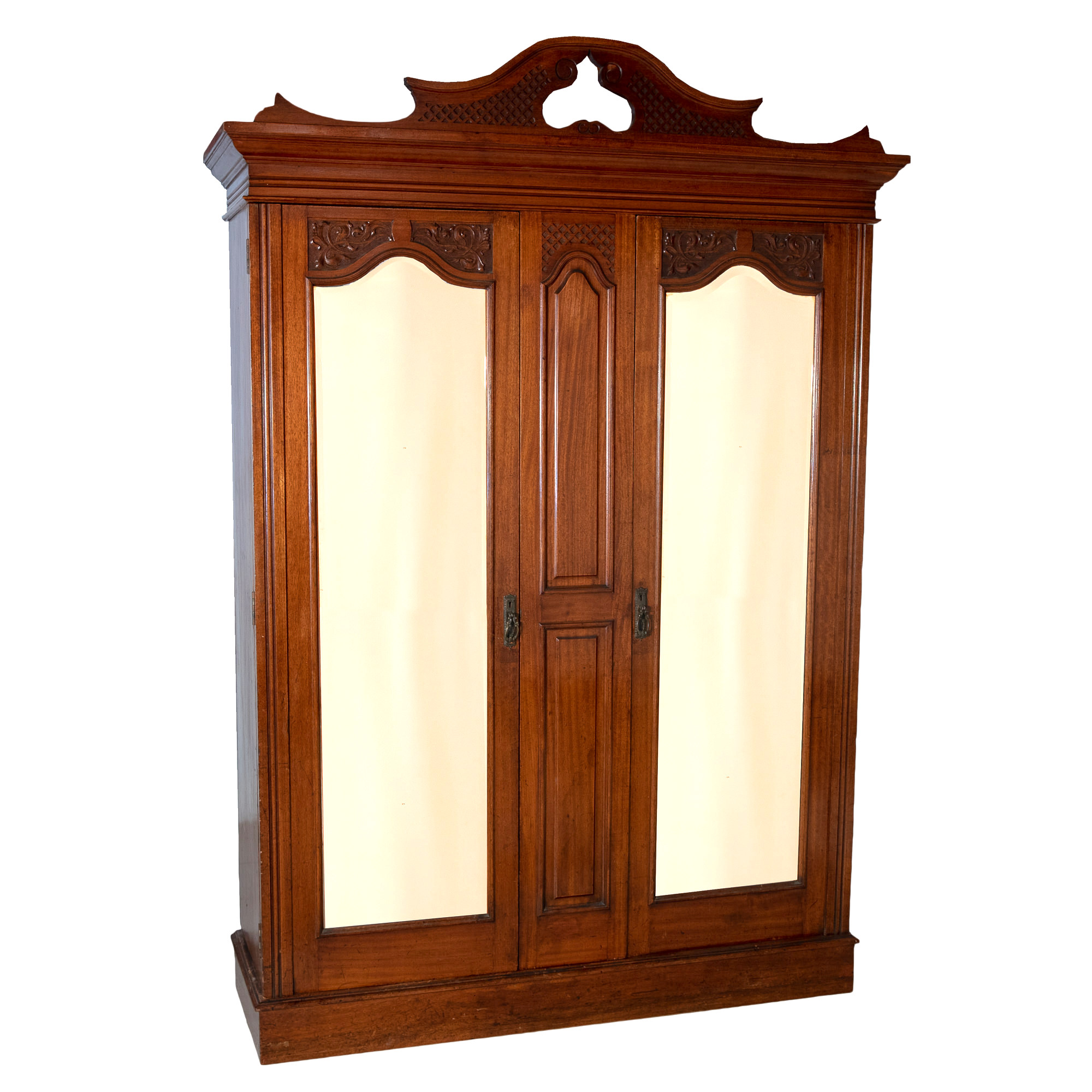 'Anthony Hordern and Sons Queensland Maple Wardrobe Early 20th Century'