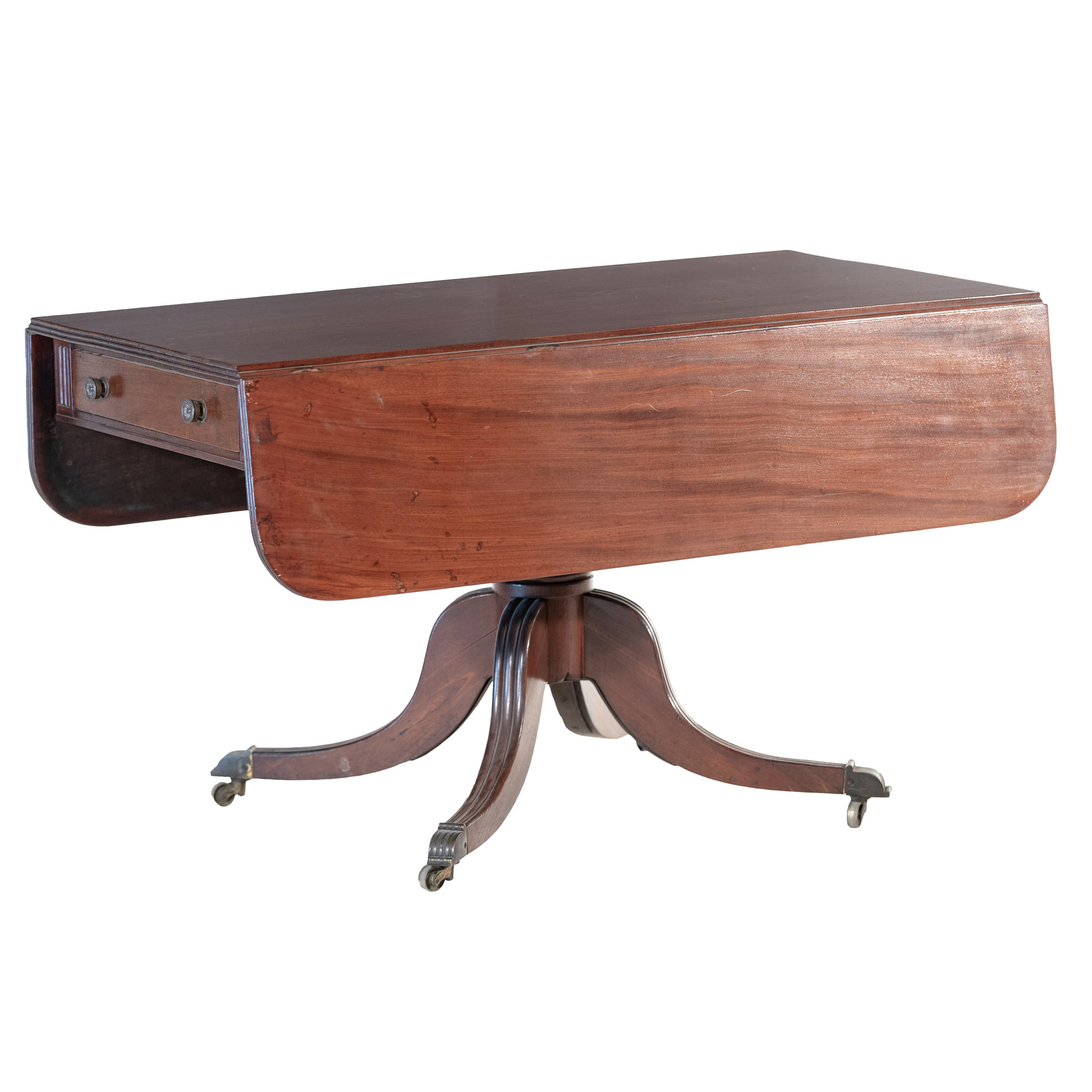 'Regency Style Mahogany Pembroke Table Late 19th or Early 20th Century'