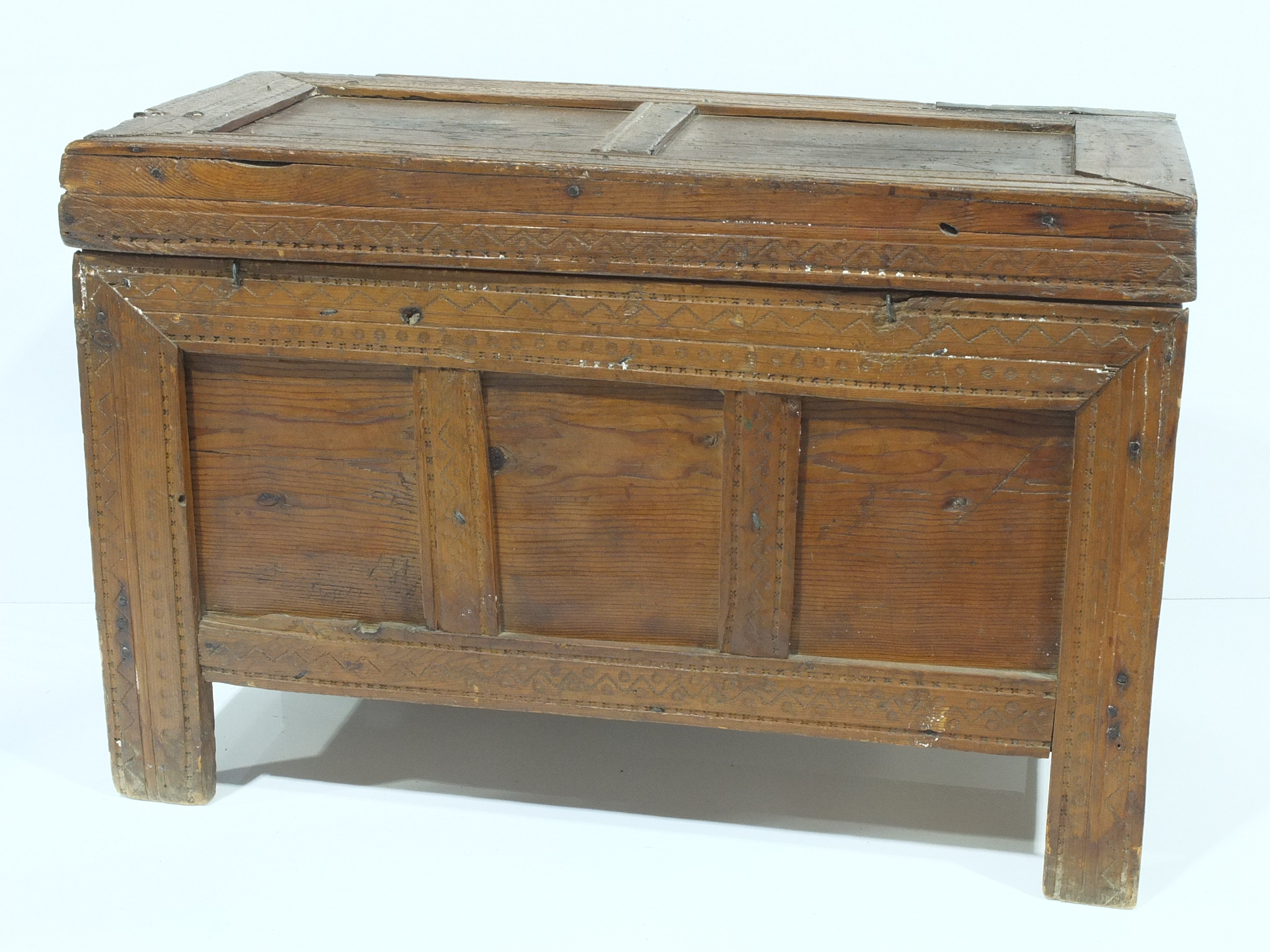 'Antique Indonesian Cedar Chest'