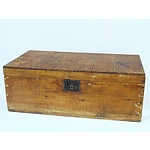 Antique Cyprus Trunk