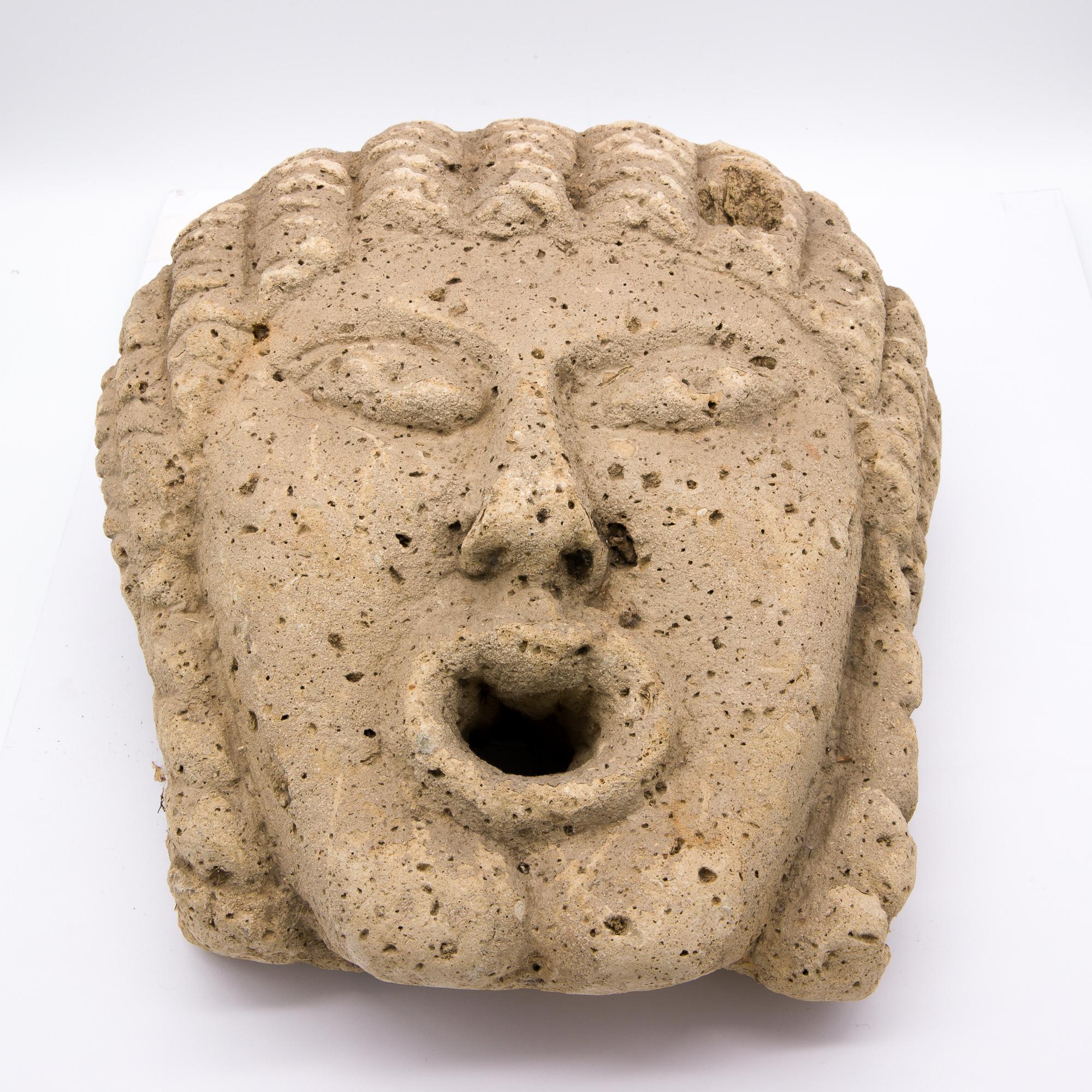 'Greco Roman Style Fountain Head '