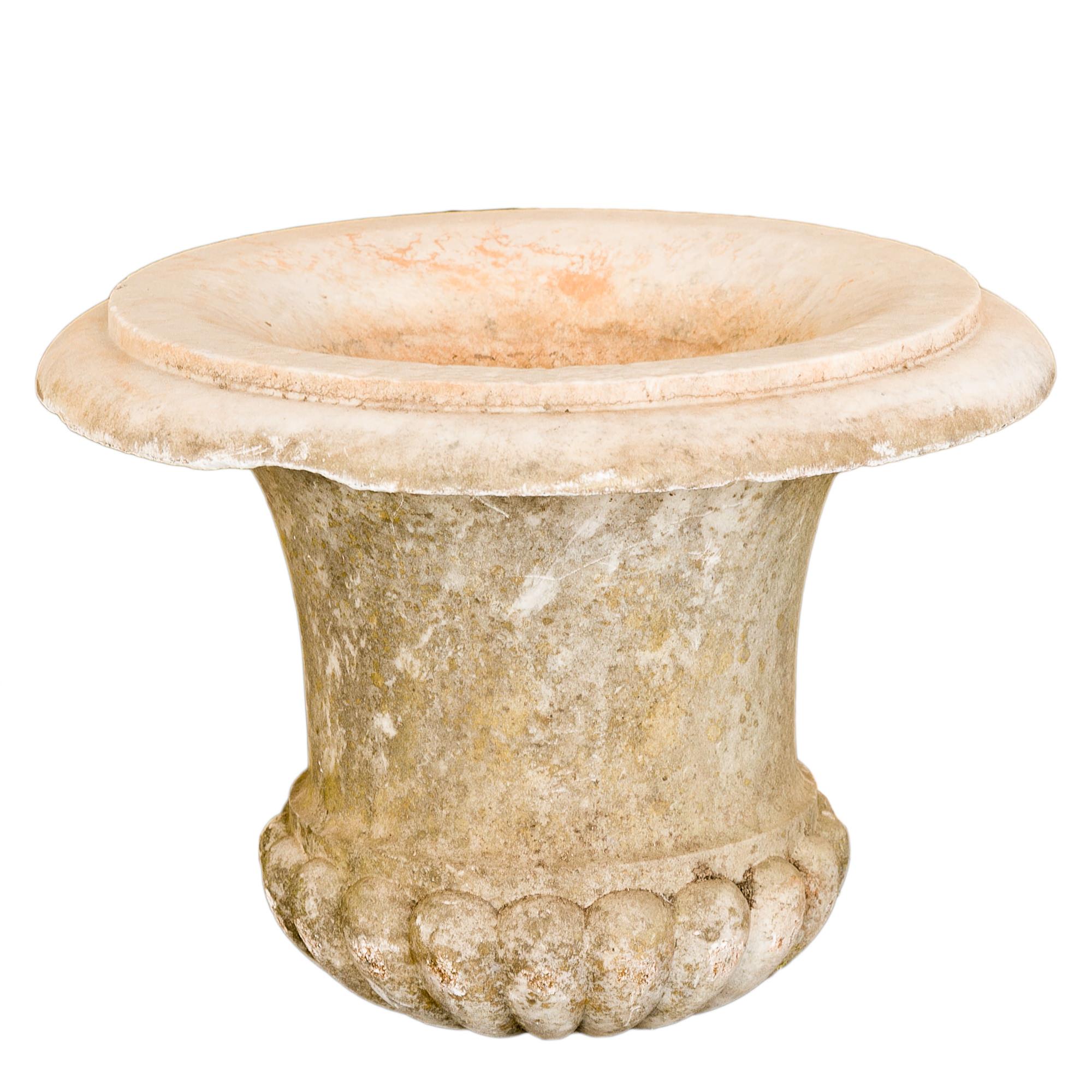'Antique Marble Garden Urn '