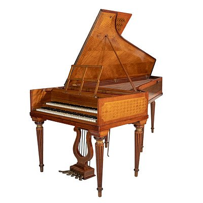 Important Pleyel Double-Manual Harpsichord 1905 Property of Wanda Landowska 1905-7