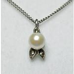 Vintage 935 Pure Silver Necklace