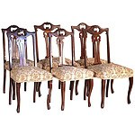 Australian Maple Dining Chairs Early 20th Century