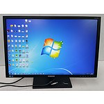 Samsung S24C650BW 24 Inch Widescreen LED-backlit LCD monitor