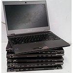 Toshiba Portege Z830 13.3 Inch Widescreen Core i7 Laptops - Lot of 8