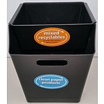 Paper to Paper Recycling Bin Sets - Lot of 60