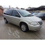 3/2007 Chrysler Grand Voyager Limited RG 05 UPGRADE 4d Wagon Silver 3.3L
