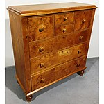 Antique Kauri Pine Chest of Drawers Circa 1900
