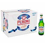 Lot of 24 Peroni Nastro Azzurro Bottles 330mL - RRP=$60.00