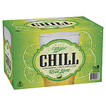 Lot of 24 Miller Chill Premium Bottle with Lime 330mL = RRP=$50.00