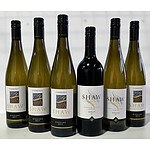 Lot of 6 Shaw Riesling 2017 and Merlot 2015 Vineyard Estate Winemakers Selection = RRP=$120.00