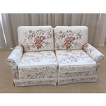Moran Floral Fabric Upholstered Four Piece Lounge Suite