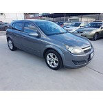12/2006 Holden Astra CDX AH MY06.5 5d Hatchback Grey 1.8L