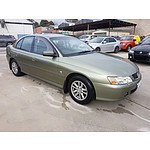 2/2004 Holden Commodore Acclaim VYII 4d Sedan Green 3.8L