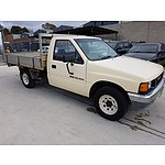 5/1990 Holden Rodeo DLX TF C/chas Beige 2.6L