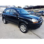 11/2009 Hyundai Tucson CITY SX 4d Wagon Black 2.0L