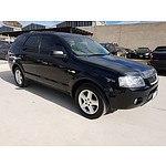 7/2005 Ford Territory TS (4x4) SX 4d Wagon Black 4.0L