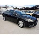 4/2008 Mazda Mazda6 Limited GH 4d Sedan Black 2.5L