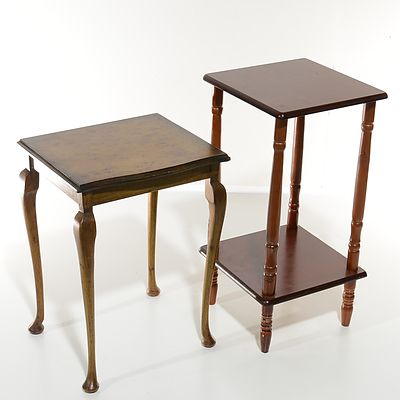 Two Small Occasional Tables