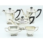 Hecworth Reproduction Old Sheffield Five Piece Tea and Coffee Setting