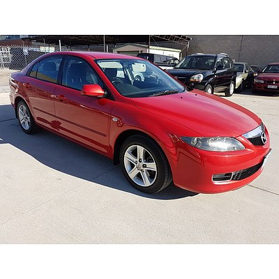 7/2006 Mazda Mazda6 Classic GG  4d Sedan Red 2.3L